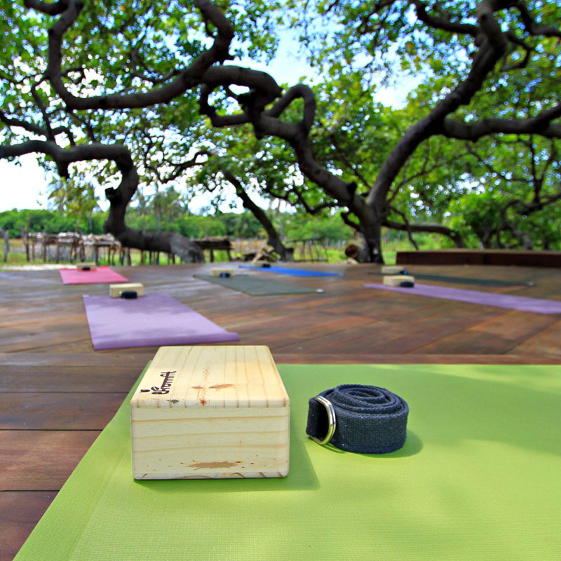 Convento Arcadia set up for yoga retreat