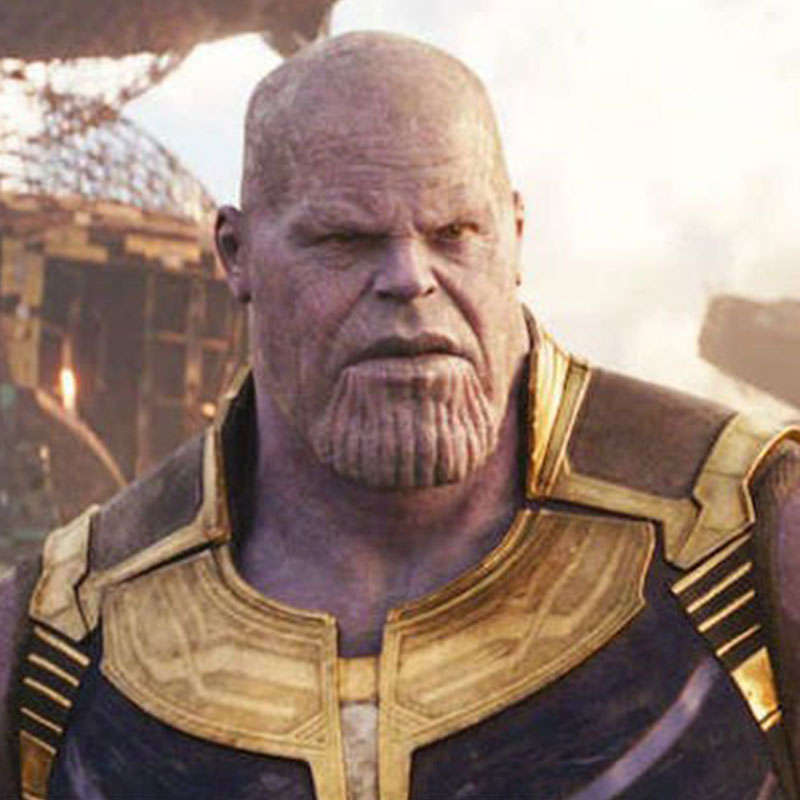 Thanos from Avengers - Infinity War