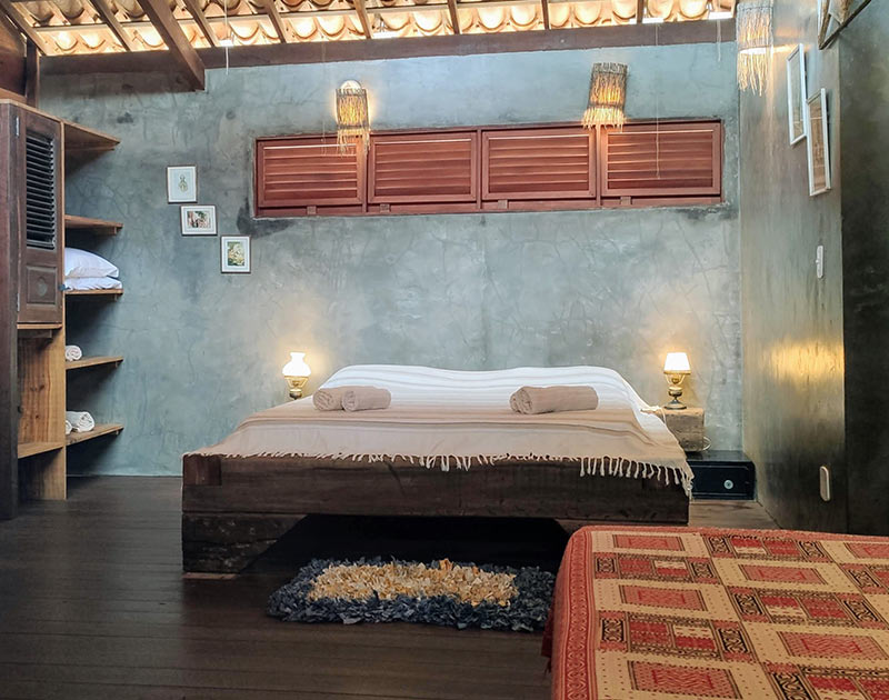 Premium chalet bedroom for four people
