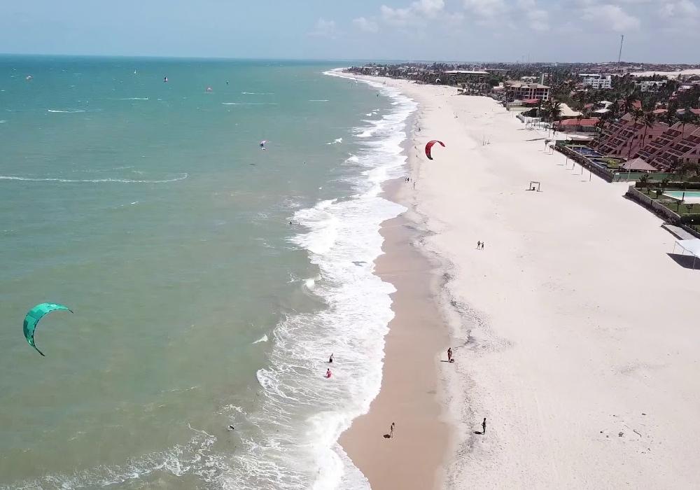 sandy stretch along the beach