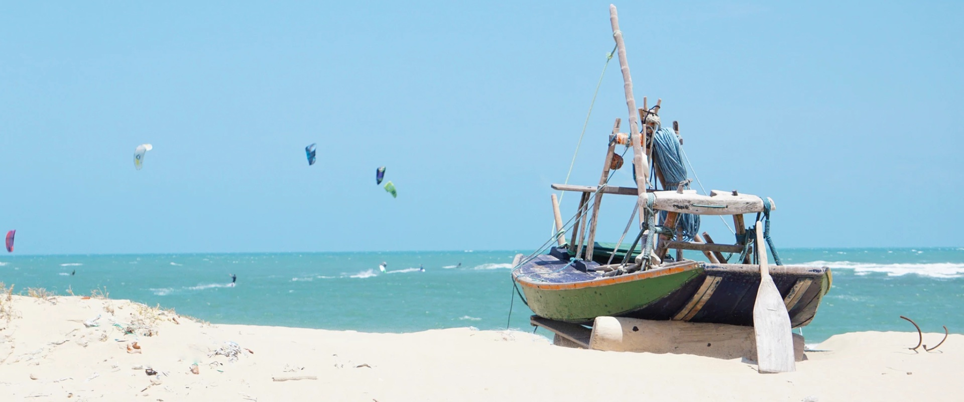 fishing boat at shore